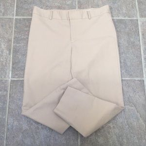 Club Monaco beige pants.